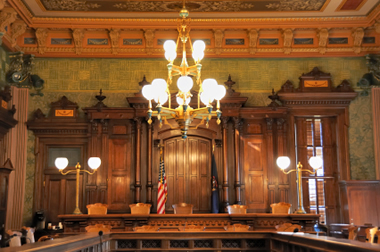 Michigan Supreme Courtroom